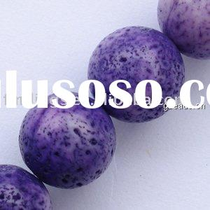 Natural sponge coral beads (dye),Wholesale beads China,