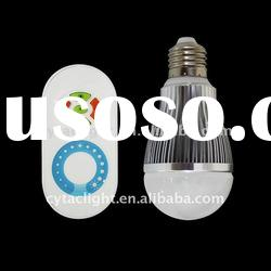 New Arrival!!!6W LED ir sensor Brightness Adjustable Bulb|Dimmable Bulb|light changing bulb
