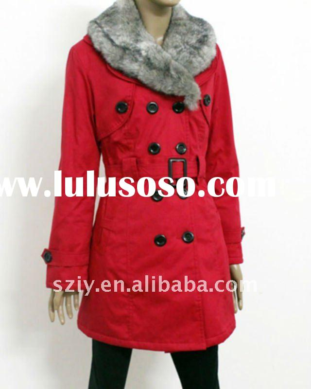 New arrivals fashion women winter coat 2012