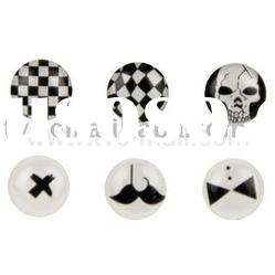 Novel Self-adhesive Button Sticker for iPhone/iPad/itouch (6PCS)