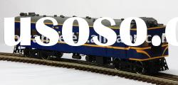 O scale train metal model