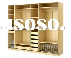 Offer smple bedroom storage,clothes wardrobe