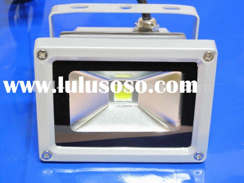 Outdoor IP65 High power 10w led flood light 90-264VAC/12VDC/Motion Sensor/Dimmable/RGB CE/RoHS/UL