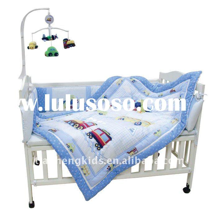 Plush Baby Crib musical mobile with soft toys