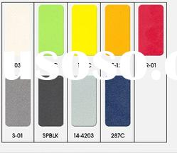 Reflective Fabric color chart