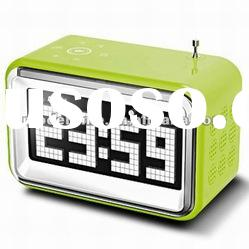 Retro Radio Control Clock Alarm Clock Radio with Aux IN