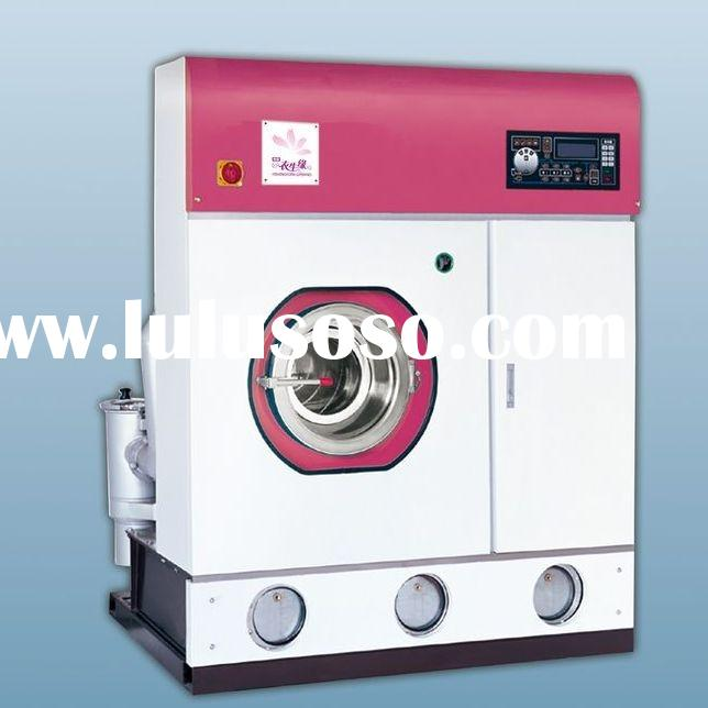 Series P-FDQ Full automatic Dry cleaning machine ( ,closed system)
