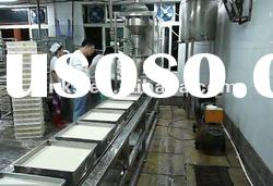 Soybean curd making line/tofu forming machine/soybean curd production line