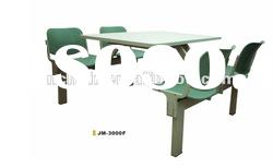 Stainless Steel dining tables and chairs table sets JM-3000F