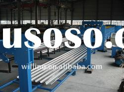 Steel Floor Deck Roll Forming Machine with Auto Stacker