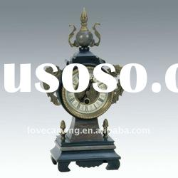 Table Collection Antique Brass Clock