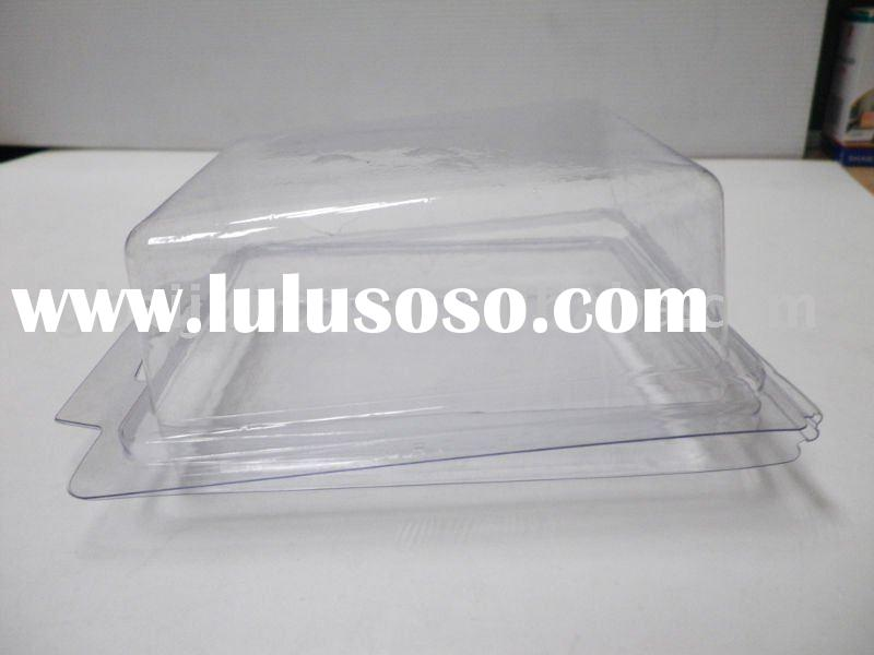 Vacuum Forming plastic PVC clear blister box