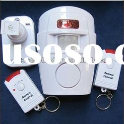 Wireless IR motion Security sensor alarm safety detector alert with remote control