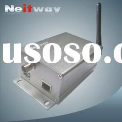 Wireless network video server with SD card storage