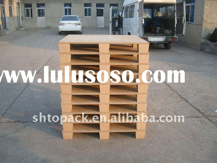 Wooden pallets latest technology alternatives cheap waterproof paper pallets