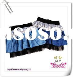 (881659) 2011 new arrivals fashion noble denim skirts