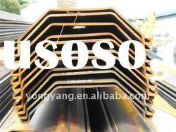 [Used/ Hot /cold rolled steel sheet pile][u / z / az type steel sheet pile]