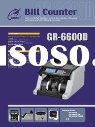 banknote and counterfeit money detector GR-6600D