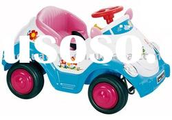 battery operated ride on baby car toy with belt