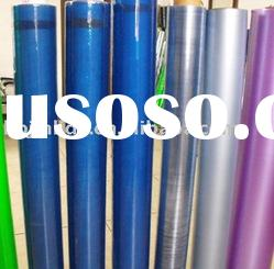 color roll of clear plastic pvc soft film for packing