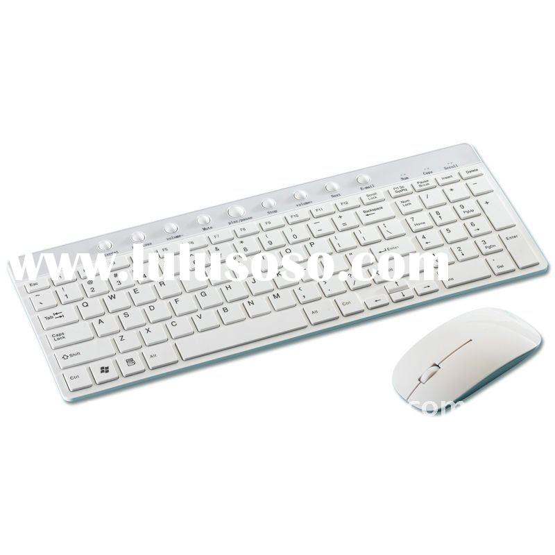combo wireless multimedia keyboard and mouse