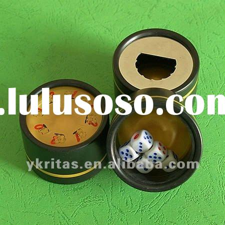 dice cup with beer bottle opener with promotional price