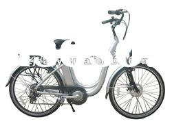 electric bicycle e bike with 250W motor front wheel drive