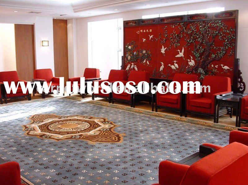 handmade China wool and New zealand wool carpet and rugs series
