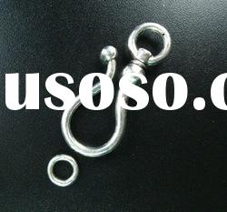 hook toggle clasp, jewelry clasps
