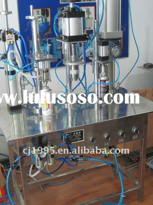 industrial used aerosol spray products ,spray can filling machine ,