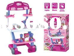 light and music go cart toy kitchen play set