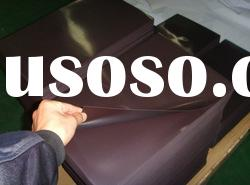 magnetic sheets plain,with adhesive,vinyl,roll or sheets,cutom size accepted
