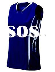 navy insert white volleyball uniform design