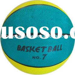 official size rubber basketball