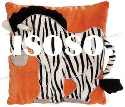 plush toy stuffed zebra pillow pet