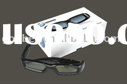 projector 3d active shutter glasses