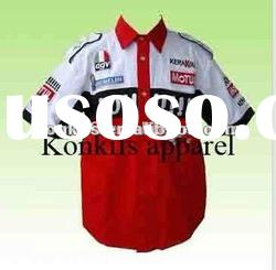 summer wear motor sublimation racing shirts