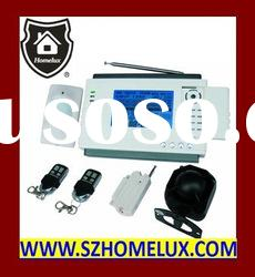 telephone auto dialer home alarm system with LCD display