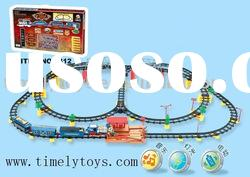 toy train track with music
