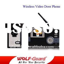 wireless video intercom door phone Monitor system/video door phone commax