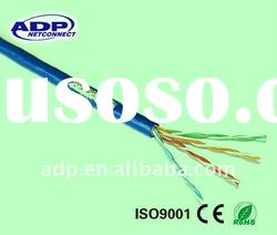 0.45mm UTP CAT5E lan cable with CCA+CCS conductor
