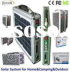 15W New portable solar led lighting system