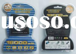 5 in 1 Emergency Charger 18000mAh for PSP, for NDS Lite, for GBA SP and Mobile
