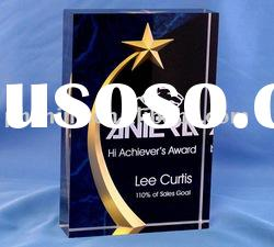 Carved Star Acrylic Award;Star Acrylic Trophy;Acrylic Star Medal