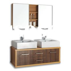 Double Sinks Bathroom vanities/ Double Mirrored Bathroom Cabinets
