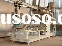 Extruded pet tortoise/rabbit/dog/fish/cat food production machine line