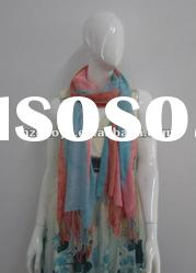 Fashion Yarn Dyed Scarf for lady