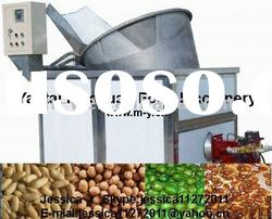 Frying machine for peanut, coating nut, green bean, broad bean