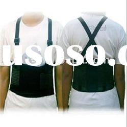 Industrial therapy back support belt (Action Belt Lower Back Lumbar Belt with Removable Suspenders)