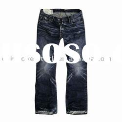 Mens cotton jean stocklot/stock+cn fashion cotton jeans